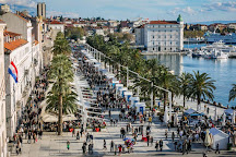 Riva Harbor, Split, Croatia