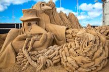 Sandskulpturer i Hundested, Hundested, Denmark