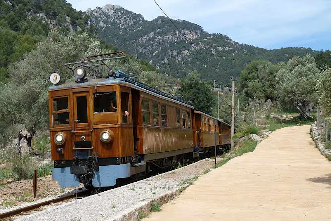 El Tren de Soller, Palma de Mallorca, Spain