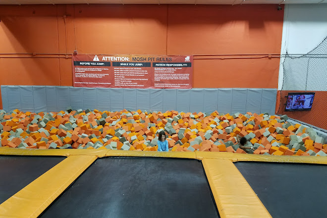 Visit AirTime Trampoline & Game Park on your trip to Troy