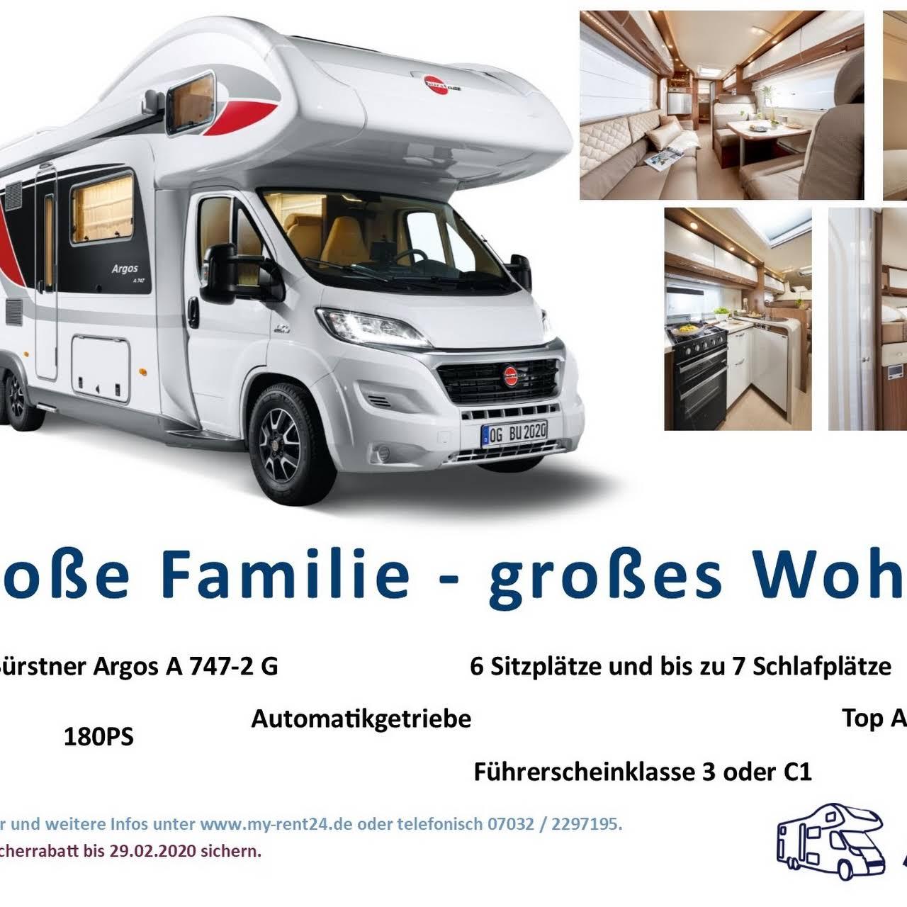 my Caravaning GmbH Wohnmobil Verkauf und Vermietung