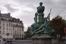 Monument a Francis Garnier, Paris, France