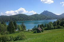 Naturstrandbad Fuschlsee, Hof bei Salzburg, Austria