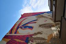 Shepard Fairey x Vhils, Lisbon, Portugal