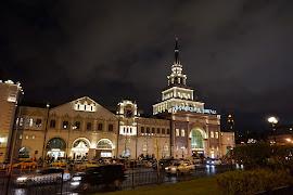 Железнодорожная станция  Moskva Kazanskaia