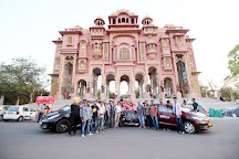 Jawahar Circle Garden, Jaipur, India