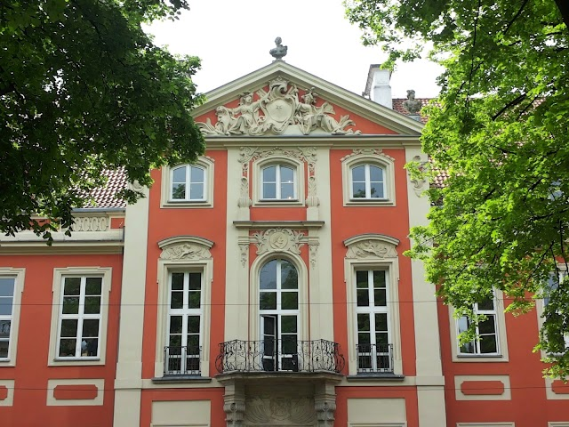 The Academy Of Fine Arts in Warsaw