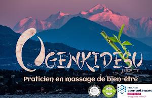 Ogenkidesu - Praticien en massage de bien-être - Pays de Gex et Suisse proche -