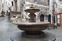 Fontana del Bargello, Gubbio, Italy