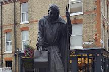 Statue of Geoffrey Chaucer, Canterbury, United Kingdom