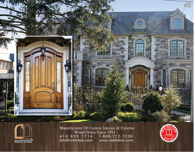 Craftdoor Designer Exterior And Custom Wood Doors Toronto Place