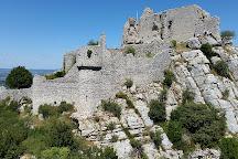 Chateau de Crussol, Saint-Peray, France