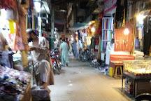Resham Gali Bazaar, Hyderabad, Pakistan
