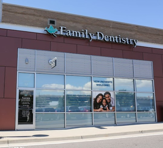 Aurora Family Dentistry Exterior