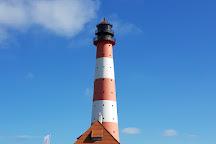 Westerheversand Lighthouse, Westerhever, Germany
