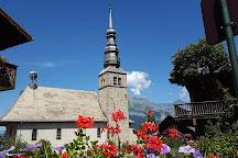 Eglise Saint-Nicolas de Combloux, Combloux, France