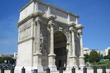 Arc de Triomphe ( Porte d'Aix ), Marseille, France