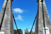 Clifden Suspension Bridge, Tuatapere, New Zealand