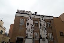 Quartiere Quadraro, Rome, Italy
