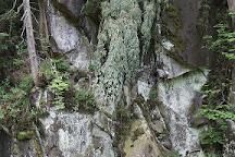 Kamenets Waterfall, Skole, Ukraine