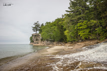 Chapel Rock and Beach, Munising, United States