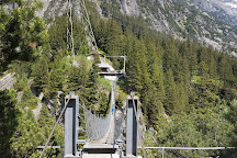 Handeckfall Bridge, Guttannen, Switzerland