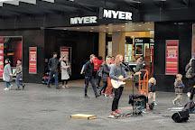 Bourke Street Mall, Melbourne, Australia
