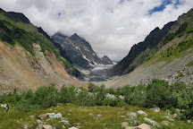 Chaladi Glacier, Mestia, Georgia