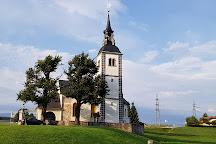 Church of St. John the Baptist - Zupnijska cerkev sv. Janeza Krstnika, Škofja Loka, Slovenia