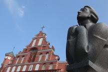 Statue of Adam Mickiewicz, Vilnius, Lithuania