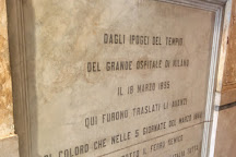 Monumento alle Cinque Giornate, Milan, Italy