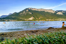 Plage Des Marquisats, Annecy, France