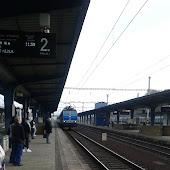 Железнодорожная станция  Lovosice
