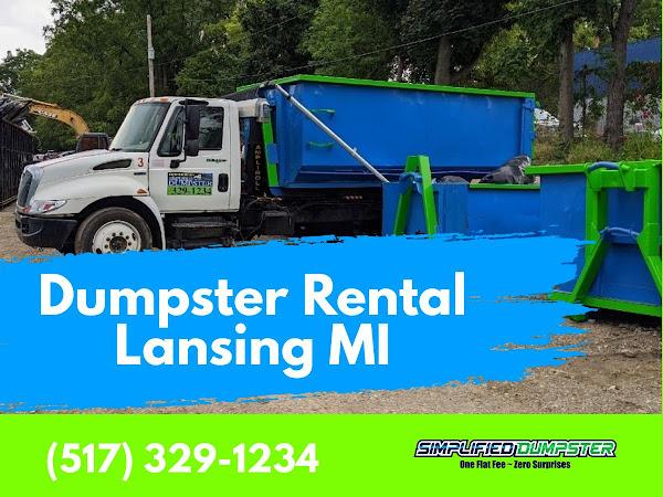 Dumpster Rental Lansing MI - Simplified Dumpster