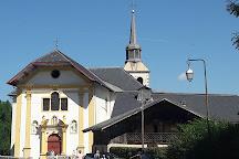 Eglise Saint Nicolas de Veroce, Saint-Gervais-les-Bains, France