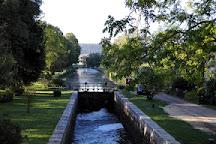 Canal du Nivernais, Bourgogne-Franche-Comte, France