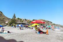 Playa El Playazo, Nerja, Spain