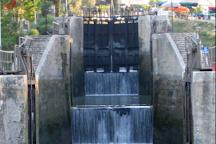 The nine Locks of Fonseranes, Beziers, France