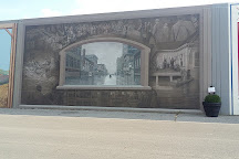 Portsmouth Floodwall Mural, Portsmouth, United States