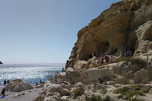 Matala beach, Matala, Greece