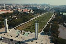 Parque Eduardo VII, Lisbon, Portugal