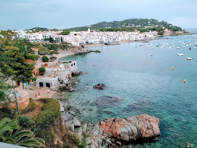 Calella de Palafrugell, Cap Roig (Anada)
