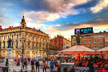 Square of Petar Preradovic, Zagreb, Croatia