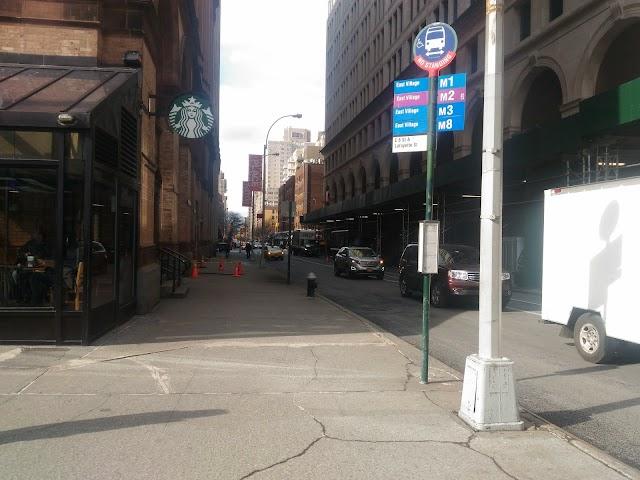 E 8 St/Lafayette St