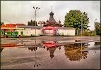 Церковь Серфима Саровского, Союзная улица на фото Курска