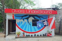 Divers UnderGround, Puerto Aventuras, Mexico