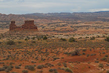 Courthouse Towers, Arches National Park, United States