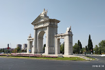 Puerta de San Vicente, Madrid, Spain