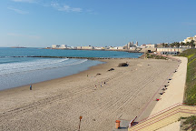Playa de Santa Maria del Mar, Cadiz, Spain