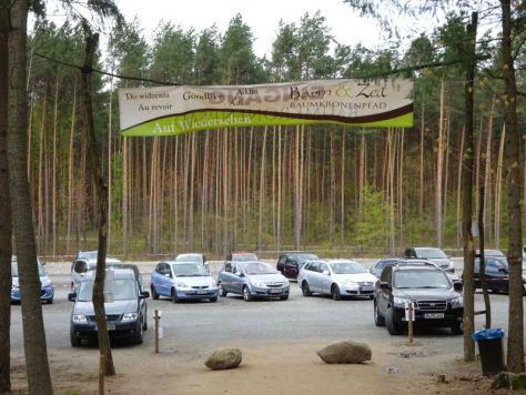 Baum & Zeit - Parkplatz parking lot